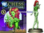 DC Chess Figurine Collection #09 Poison Ivy Black Pawn Eaglemoss